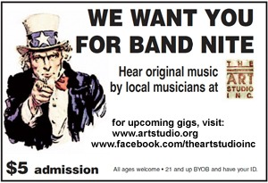 We Want You for Band Night