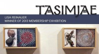 LISA REINAUER WAS NAMED winner of TASIMJAE 2013, at a reception held April 6 in The Studio.   Reinauer previously placed first in 2003. Reinauer, who is chair of the...