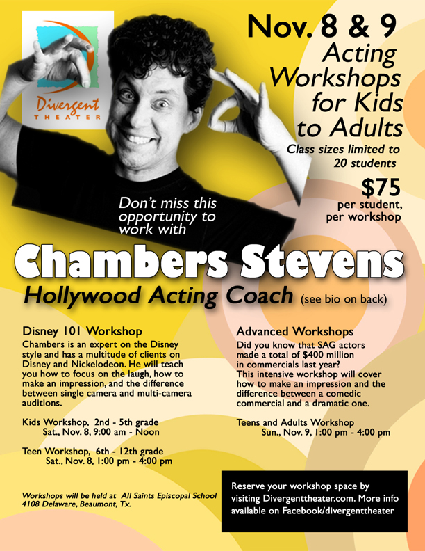 Hollywood Acting Coach To Conduct Beaumont Workshops For Kids