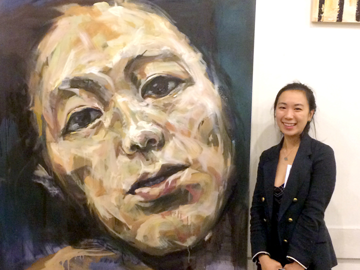 Self Portrait #1 by Riah Lee placed first in TASIMJAE 2014. Riah will be the featured artist at TASI in May.