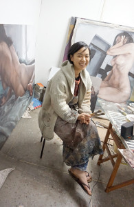 TASIMJAE 2014 winner Riah Lee, opposite, poses in her Seoul, South Korea studio.