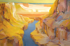 """The Gorge"" by Will-Amelia Sterns Price"