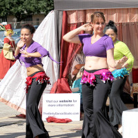 Belly dancers at Montage 2014.