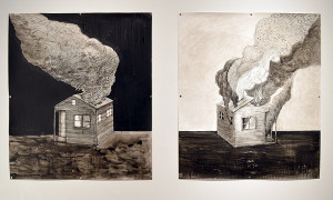 """Smoke House Day and Night Time,"" by Hollis Hammonds."