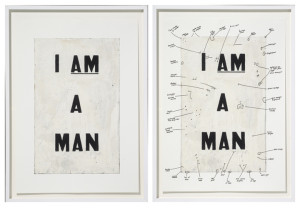 """Condition Report"" by Glenn Ligon"