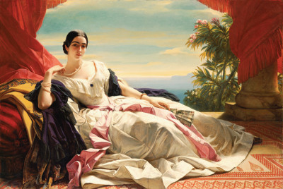 Before Airbrush There Was Winterhalter's Brush