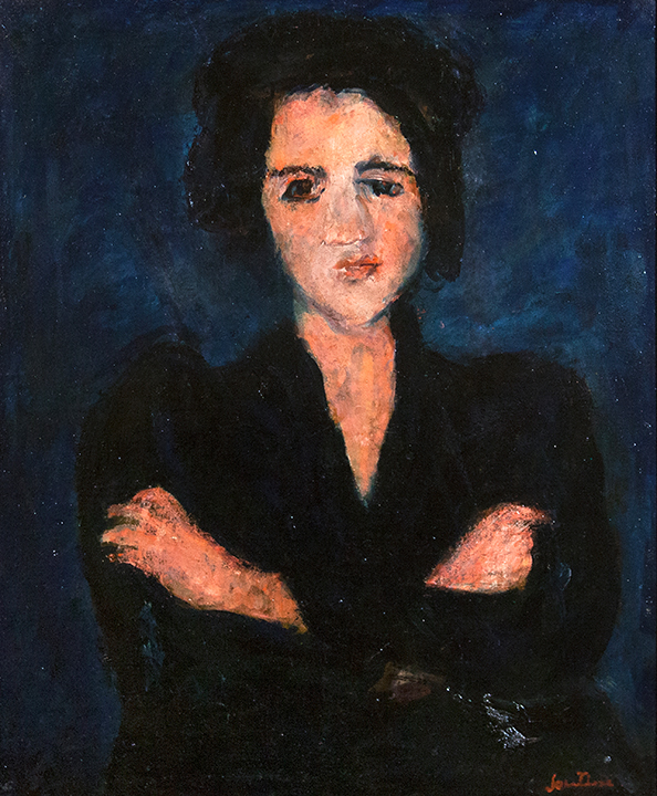 """Eva"" by Chaim Soutine. Photo by Aliaksandr Aliakseyeu & Aleh Lukashevich Фотографы: Александр Алексеев и Олег Лукашевич"