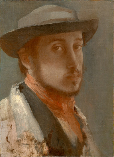 """Self Portrait"" by Edgar Degas"
