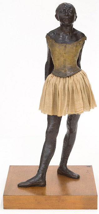 """The Little Fourteen-Year-Old Dancer"" by Edgar Degas."